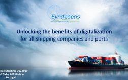 European Maritime Day 2019 Syndeseas