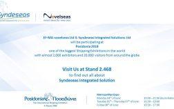Syndeseas exhibits at Posidonia 2018