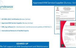 Approved IHM Service Supplier